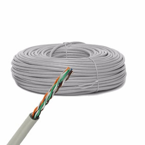 100 Mts Cable Utp Cat 5e Red Rj45 Rj11 Envio Gratis