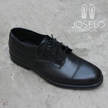 Zapato Cordon De Vestir De Hombre Super Canchero De Cuero