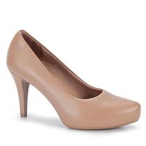 Sapato Scarpin Conforto Feminino Usaflex - Nude