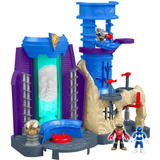Imaginext Power Rangers Base Dos Rangers Fisher Price