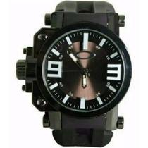 Relógio Masculino De Pulso Oakley Gearbox Titaniun
