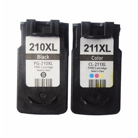 Cartucho Canon Pg 210xl Cl 211xl Mp230 Mp240 Mp250 Mp490