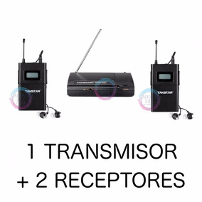 Sistema Monitoreo Inalámbrico In-ear Doble Receptores Wpm200