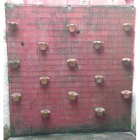 Treliça Grade Jardim Vertical Em Aço Carbono (ferro)