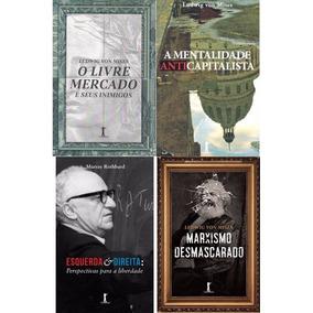 Kit 9 Livros - Olavo De Carvalho, Mises E Rothbard