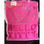 Bolso De Hello Kitty Pañalera Grande Para Mercado Etc