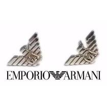 Aretes Giorgio Emporio Armani Plata Ley .925 Wow