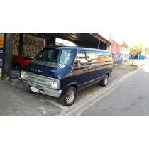 Dodge Van Furgao B300 Consulado Usa 4via Scooby Doo Unica Br
