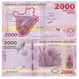 Burundi - Billete 2000 Francos 2015 - Nuevo!!!!