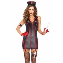 Disfraz Enfermera Leg Avenue Negro Para Halloween