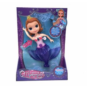 Muñeca Lighting Mermaid Sirena Luminosa Original Ditoys