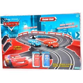 Pista Racing Cars Autitos Electricos Original Ditoys Tv