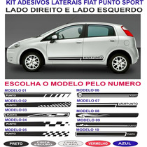 Acessorios Adesivo Lateral Fiat Punto Sporting Kit