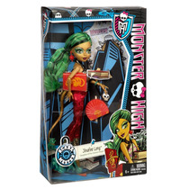 Boneca Mattel Monster High Jinafire Long Foto De Terror