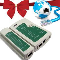 Probador Tester Cable De Red Utp Rj11 Rj12 Rj45 Ethernet