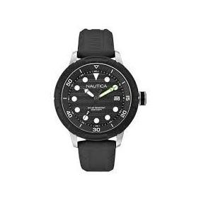 Relógio Náutica Modelo A16597g Masculino Pulseira Silicone