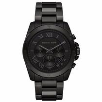 Reloj Michael Kors Brecken Black Mk8482 Ghiberti
