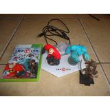 Disney Infinity Starter Pack Xbox 360 Juego + 3 Figuras +++