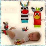 Media Muñequera Sonajero De Estimulación Temprana Para Bebes
