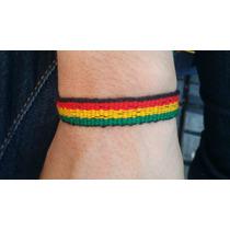 Pulseira Tornozeleira Jamaica Reggae Amizade,,,,