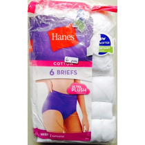 Bikini Calzón Panty Dama Fruit The Loom Hanes Pza Interior