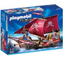 Playmobil 6681 Barco Ingles Piratas Con Motor Gratis