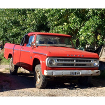 Dodge 200 Alta Larga Perkins 6 Año 87 Caja Bauxa 4ta Titular