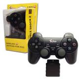 Controle Sem Fio Ps2 Wireless Playstation 2 Ps1 Frete Grátis