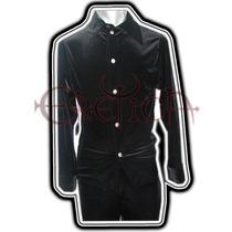 Camisa Terciopelo Eretica Ropa Dark,gotico,metalero Hombre 5