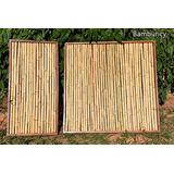 Painel De Bambu/madeira Pode Forrar Parede, Divisória, Cerca