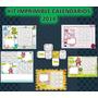 Kit Imprimible Calendarios 2014