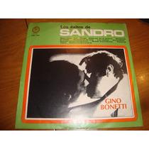 Gino Bonetti - Los Exitos De Sandro- Vinilo