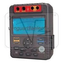 Medidor De Aislamiento Digital 5000 Volts Tipo Megger