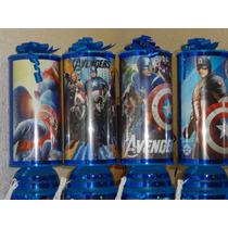 Capitan America Recuerdos Centros De Mesa Lamparas Avengers