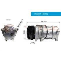 Compressor Asia Motors Harrison 12 Volts Polia 1a