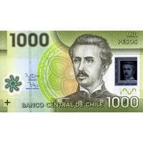 Grr-billete De Chile 1000 Pesos 2010 - Plástico!!