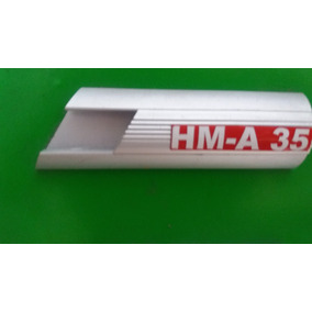 Ca-a35 Canaleta Aluminio De 3.5 De Base X 1.2 De Altura