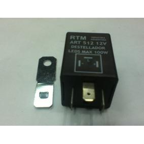 Destellador Electronico 12v C/c Intermitente Para Leds
