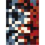 Tapete São Carlos Pixel Imagem 2,00x2,90 - Moderno