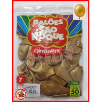 Kit Balão Bexiga São Roque Nº 07
