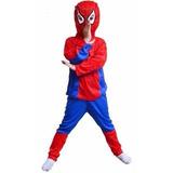 Fantasia Homem Aranha Spiderman Criança