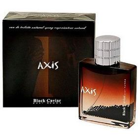 Perfume Axis Black Caviar Masculino 90ml Eau De Toilette