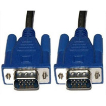 Cable Extension Vga Db15 Vga Macho A Macho Monitor 10 Metros