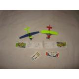 Coleccion Completa Aviones K04 Nº31-32 Kinder Sorpresa