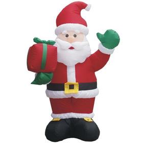 Papai Noel Gigante Inflavel 1,80m 110v