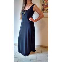 Vestido Largo Modal Con Lycra