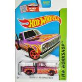 Auto Camioneta Hot Wheels 78 Dodge Picu Up Ploter Retro Rdf1