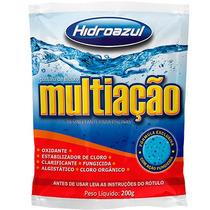 Pastilha De Cloro Multiação - Desinfetante Para Piscinas