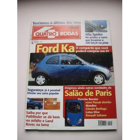 Revista Quatro Rodas Ano 36 Nº 436 Nov 1996 - Ford Ka