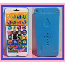 Celular Infantil Musical Iphone Peppa Pig Frete Gratis